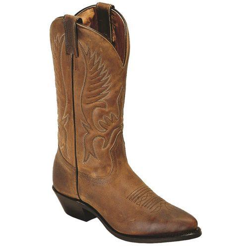 Boulet Ladies Western Cowboy Boots - Ranger Aged Bark