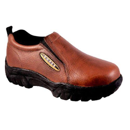 Roper Brand Slip-On Shoe - Brown