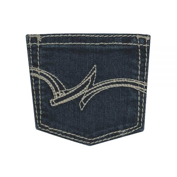 Wrangler® Girl's Premium Patch® Jean Dark Blue
