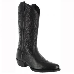 Ariat Mens Cowboy Heritage Western Boots - Black