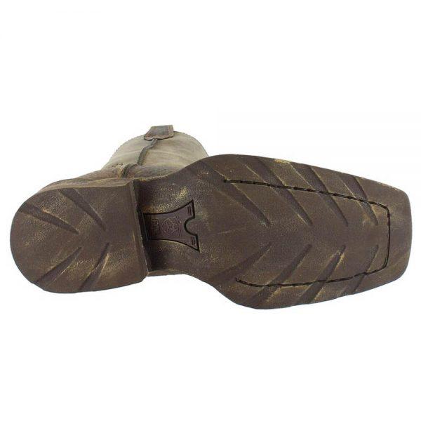 Ariat Mens Cowboy Rambler Western Boots - Brown Bomber