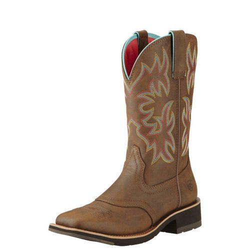 Ariat Women's Delilah Western Boot - Toasted Brown