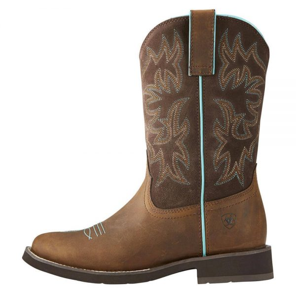 Ariat Women's Delilah Cowgirl Boot Round Toe