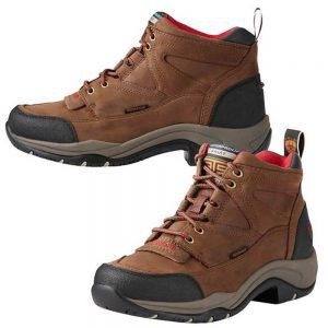 Ariat Women's Terrain H2O Waterproof Hiking Endurance Shoe - Distressed
