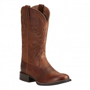 Ariat Mens Sport Horseman Brown Boots