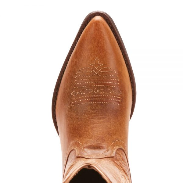 Ariat Round Up Johanna Boot Pearl Brown