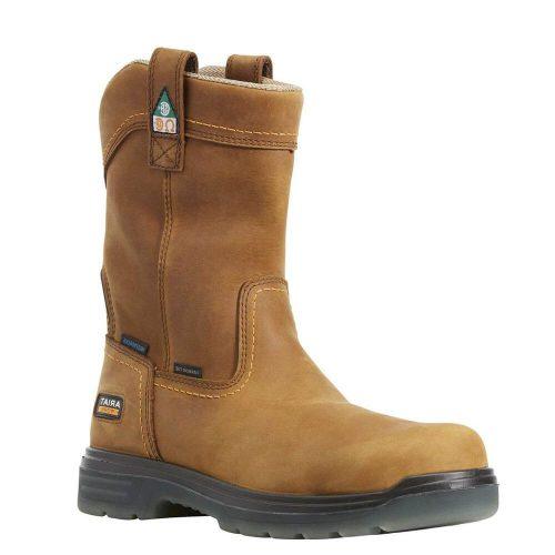 Ariat Men's Turbo Pull-On CSA Waterproof Carbon Toe Work Boot