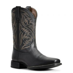 Ariat Men's Black Sport Herdsman Boots