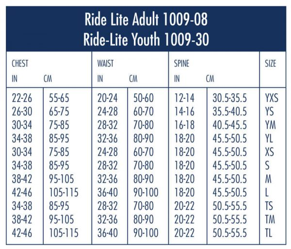 Adult Ride-Lite 1009-08 Black