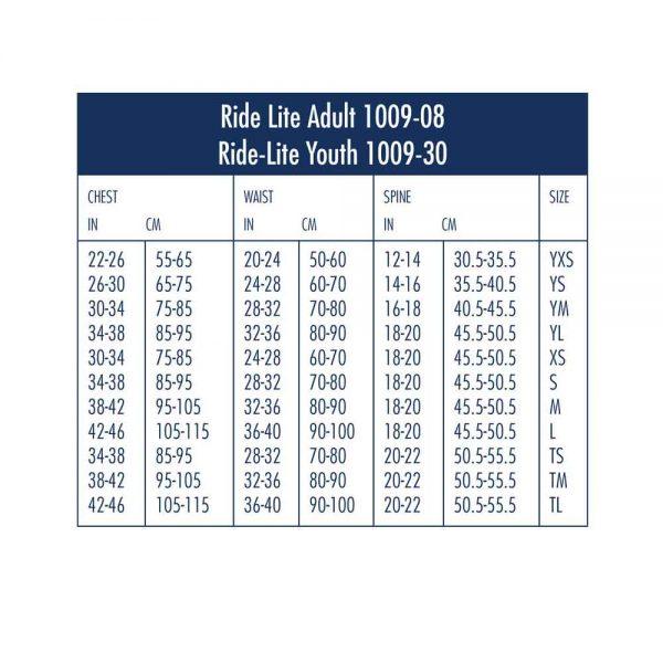 Youth Ride-Lite 1009-30 Black