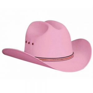 Bullhide Kids Cowboy Hat - Buddy in Pink