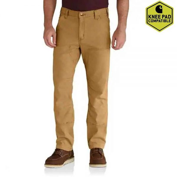 Carhartt Rugged Flex® Rigby Double-Front Pant - Hickory