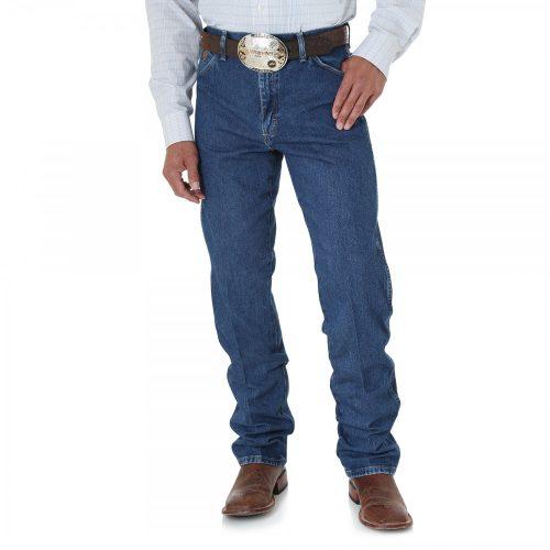 Wrangler 13MGSHD Men's George Strait Original Fit Jeans - Blue