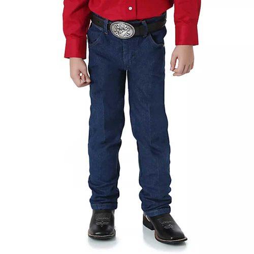 Wrangler Boy's Prewashed Cowboy Cut® Original Fit Jean