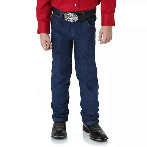 Wrangler Boy's Prewashed Cowboy Cut® Original Fit Jean