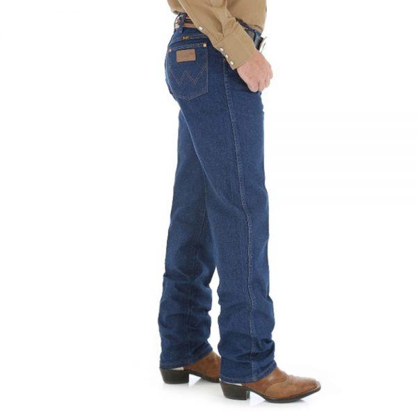 Wrangler 13MWZPW Men's Regular Fit Jeans - Prewashed Denim Blue
