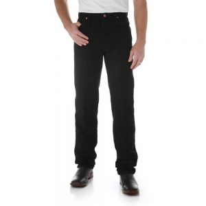 Wrangler 13MWZWK Men's Regular Fit Jeans - Black