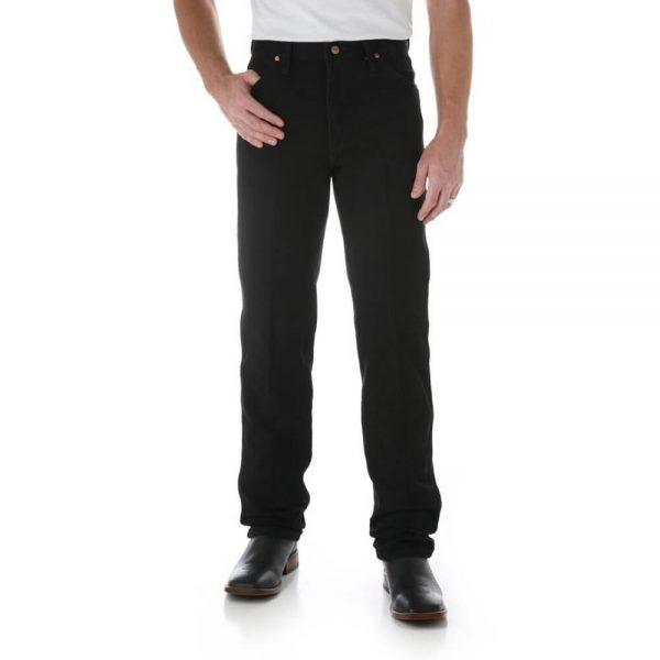 Wrangler 13MWZWK Men's Regular Fit Jeans - Black