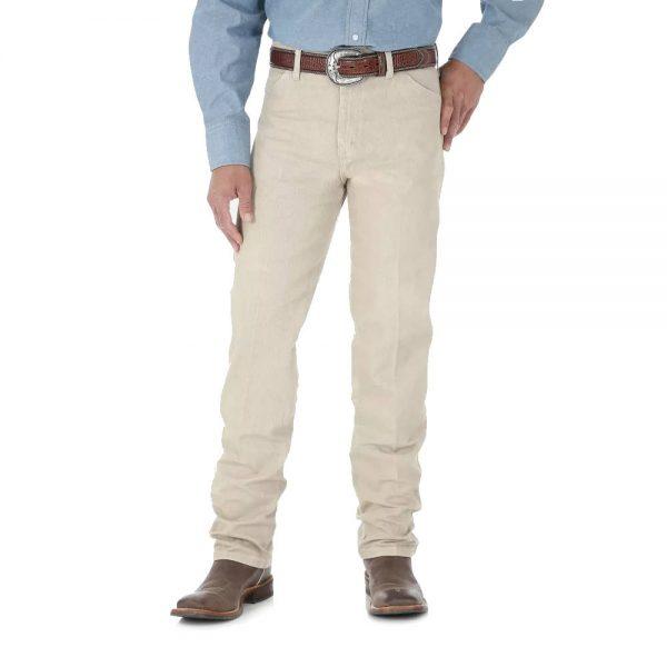 Wrangler® Cowboy Cut® Original Fit Jean In Prewashed Tan