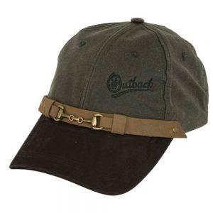Oilskin Equestrian Cap - Sage