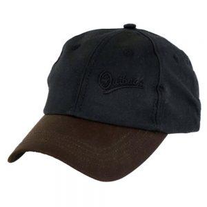 Oilskin Aussie Slugger Cap - Black