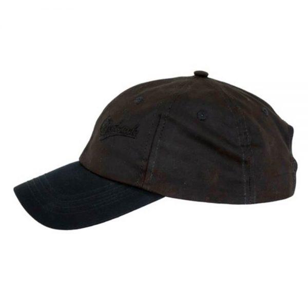 Oilskin Aussie Slugger Cap - Brown
