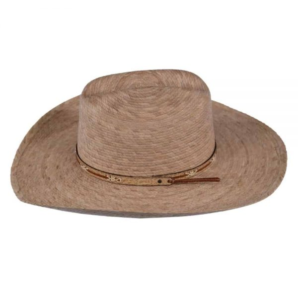 Outback Trading Red River Palm Straw Hat