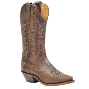 Boulet Ladies Western Cowboy Boots - Selvaggio Wood