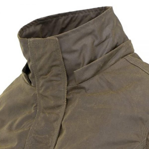 Outback Trading Adelaide Ladies Oilskin Jacket - Bronze