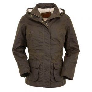 Outback Trading Adelaide Ladies Oilskin Jacket - Bronze