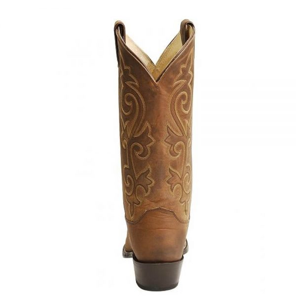 Justin Mens Western Cowboy Boots - Bay Apache