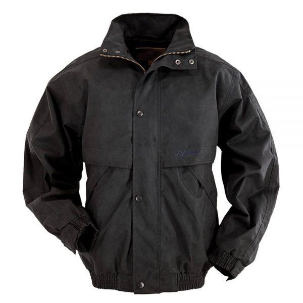 Outback Trading Microsuede Rambler Jacket - Black