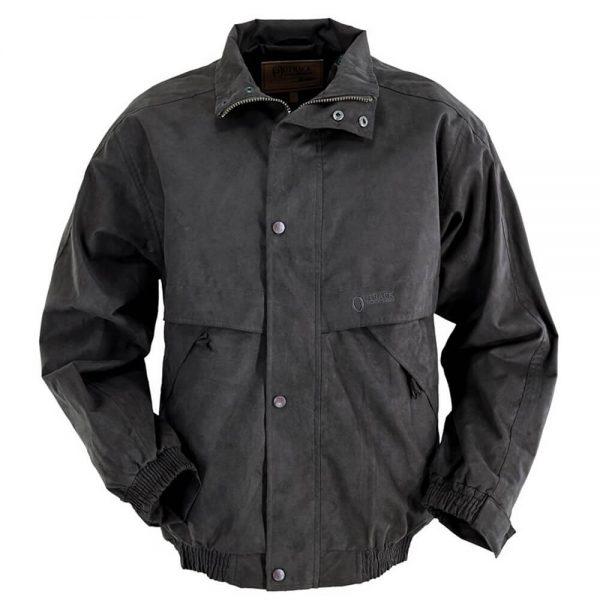 Outback Trading Microsuede Rambler Jacket - Brown