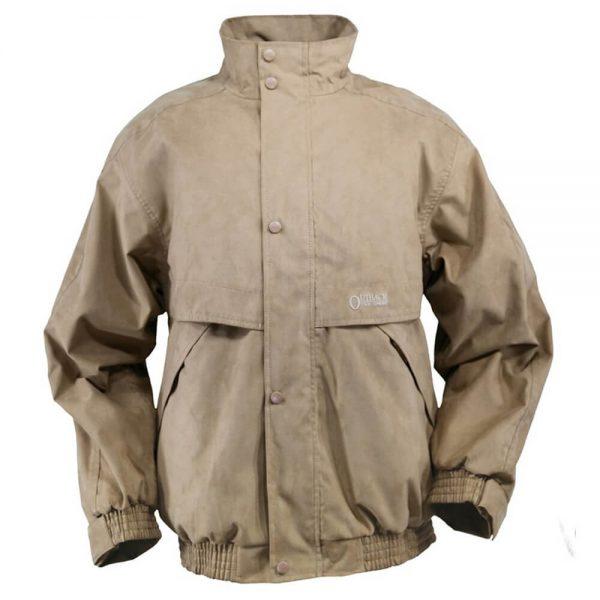 Outback Trading Microsuede Rambler Jacket - Tan