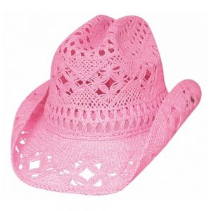 Bullhide Kids Cowboy Hat - April Pink