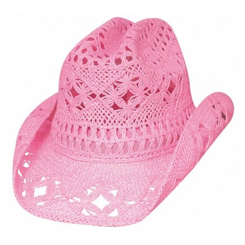 Bullhide Kids Cowboy Hat - April Pink