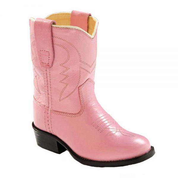 Old West Toddler Western Cowboy Boots - Pink