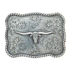 Nocona Belt Buckle - Longhorn