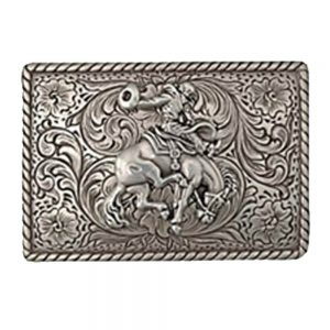 Nocona Belt Buckle - Saddle Bronc