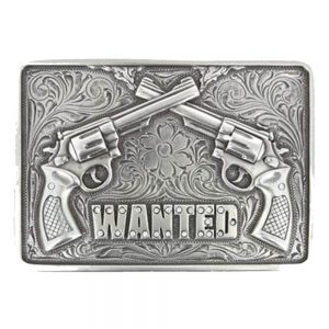 Nocona Belt Buckle - WANTED