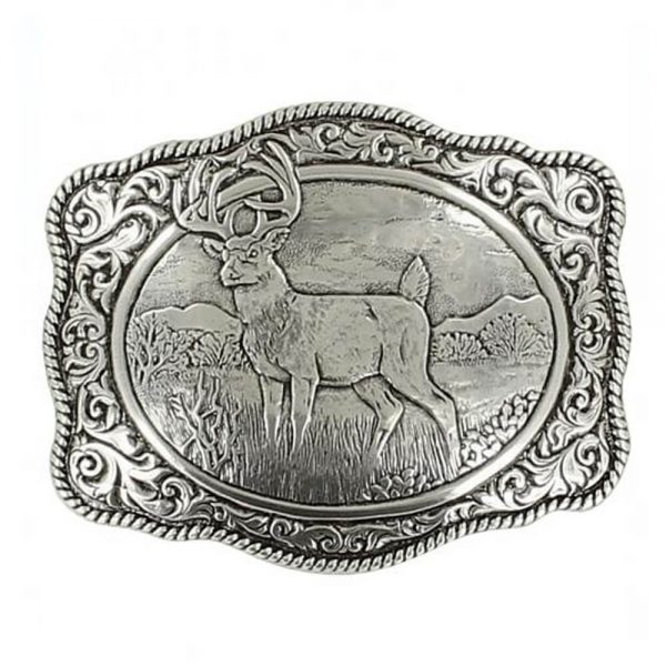 Crumrine White Tail Deer Buckle