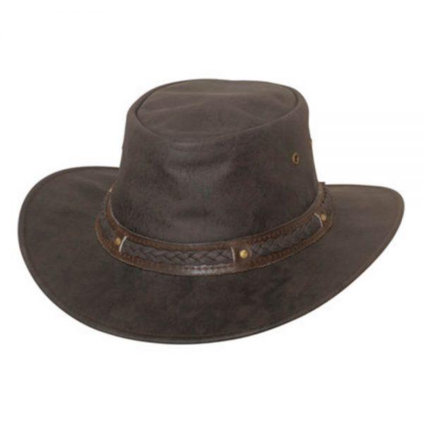 Bullhide Hobart Crushable Leather Hat