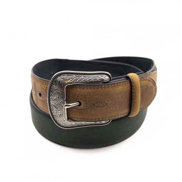 Wrangler Brown Crazy Horse Western Belt