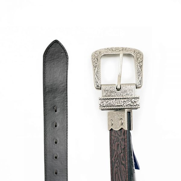 Wrangler Reversible Black-Brown Western Belt