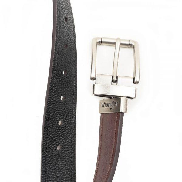Wrangler Reversible Brown-Black Western Belt