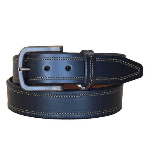 Lejon Oil Tanned Leather Belt – Crusader Black