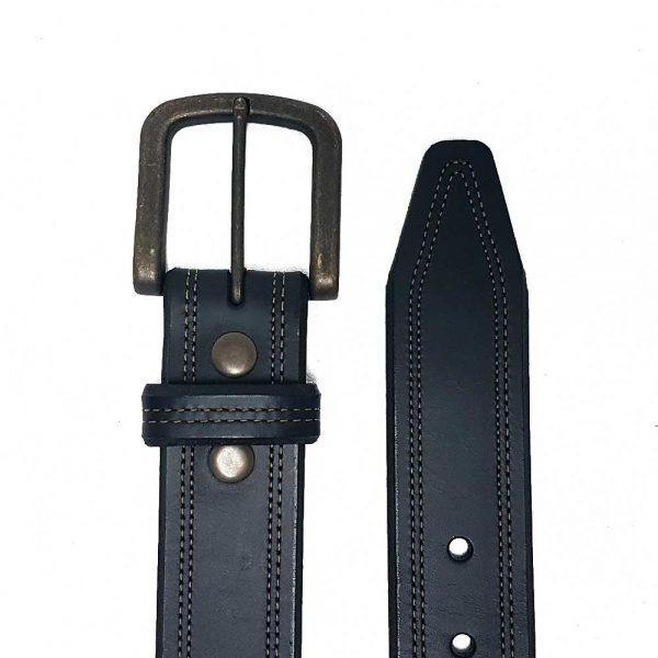 Lejon Oil Tanned Leather Belt – Crusader Black