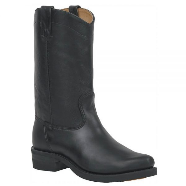 Canada West Bikers Mens Boots - Black Loggertan