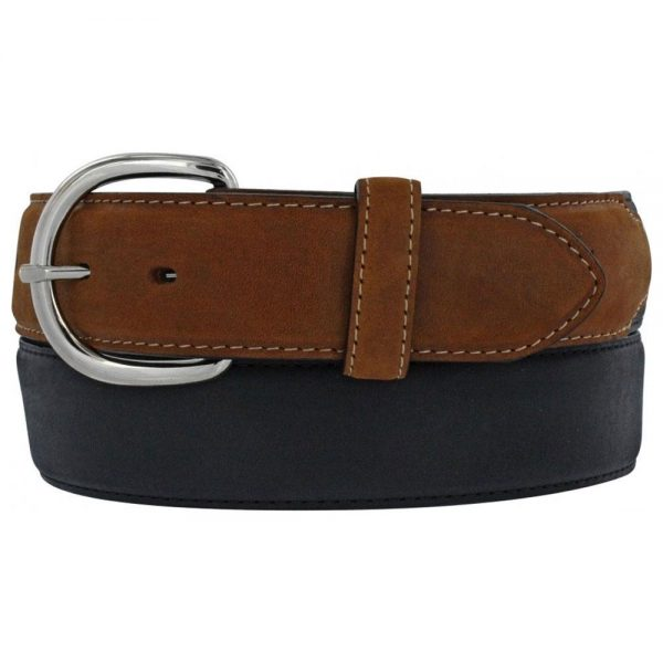 Silver Creek Classic Western Belt - Black & Brown