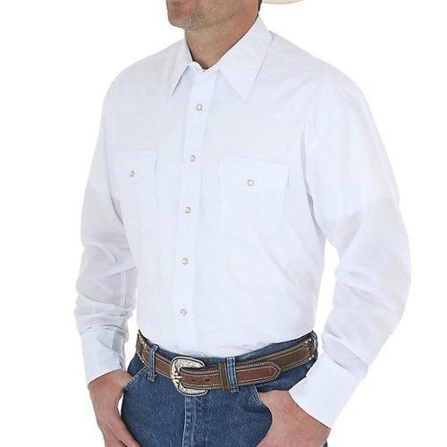 Men's Wrangler Shirt - White